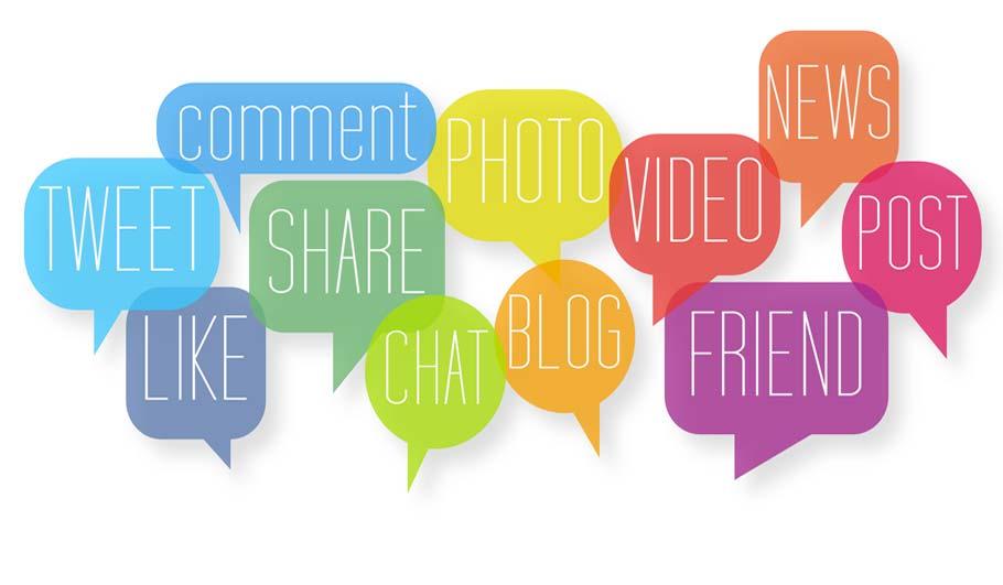 De verschillende sociale netwerken en hoe ze werken